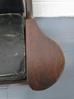 Don Shoemaker Don Shoemaker Leather Rosewood Sofa - 597184