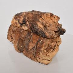 Don Shoemaker Don Shoemaker Organic Handsome Exotic Wood Stash Box Carved Cocobolo 1970s - 1836968