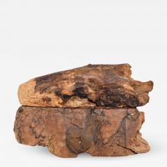 Don Shoemaker Don Shoemaker Organic Handsome Exotic Wood Stash Box Carved Cocobolo 1970s - 1838855