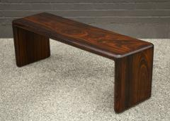 Don Shoemaker Don Shoemaker Solid Brazilian Rosewood Table Bench 1970s Studio Craft Mexico - 1983067