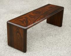 Don Shoemaker Don Shoemaker Solid Brazilian Rosewood Table Bench 1970s Studio Craft Mexico - 1983068