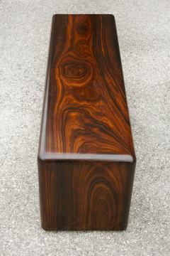 Don Shoemaker Don Shoemaker Solid Brazilian Rosewood Table Bench 1970s Studio Craft Mexico - 1983071