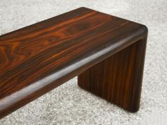 Don Shoemaker Don Shoemaker Solid Brazilian Rosewood Table Bench 1970s Studio Craft Mexico - 1983072