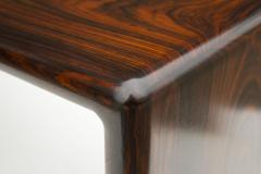 Don Shoemaker Don Shoemaker Solid Brazilian Rosewood Table Bench 1970s Studio Craft Mexico - 1983075