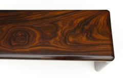 Don Shoemaker Don Shoemaker Solid Brazilian Rosewood Table Bench 1970s Studio Craft Mexico - 1983077