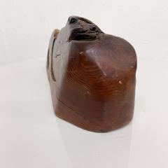 Don Shoemaker JEWELRY Secret Box in Free Form Natural Organic Raw Edge Wood 1970s - 2091223