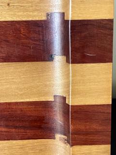 Don Shoemaker Large Exotic Mixed Wood Tray by Don Shoemaker - 2108280