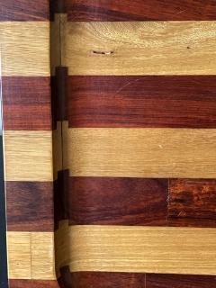 Don Shoemaker Large Exotic Mixed Wood Tray by Don Shoemaker - 2108283