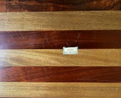 Don Shoemaker Large Exotic Mixed Wood Tray by Don Shoemaker - 2108286