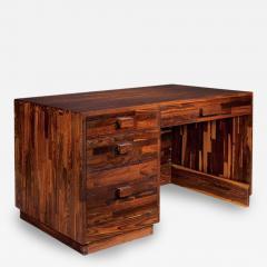 Don Shoemaker Rare Cocobolo Wood Desk Don Shoemaker - 81177