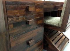 Don Shoemaker Rare Cocobolo Wood Desk Don Shoemaker - 81178