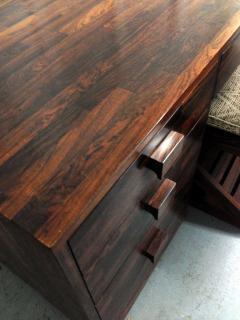 Don Shoemaker Rare Cocobolo Wood Desk Don Shoemaker - 81179
