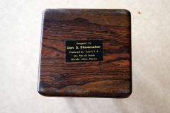 Don Shoemaker Tropical Wood Set of 6 Coasters - 1355096