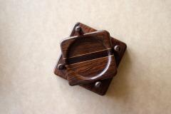 Don Shoemaker Tropical Wood Set of 6 Coasters - 1355098