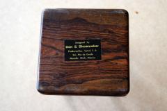 Don Shoemaker Tropical Wood Set of 6 Coasters - 1355100