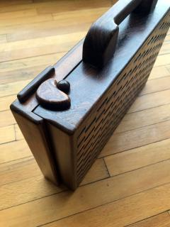 Don Shoemaker Wooden Briefcase - 1351825