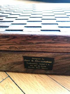 Don Shoemaker Wooden Briefcase - 1351826