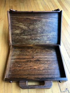 Don Shoemaker Wooden Briefcase - 1351827