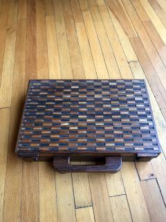 Don Shoemaker Wooden Briefcase - 1351829