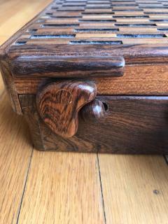 Don Shoemaker Wooden Briefcase - 1351832