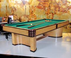 Donald Deskey 1937 Brunswick Paramount Art Deco Pool Table   217368
