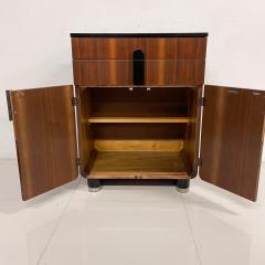 Donald Deskey New Yorker Donald Deskey Industrial Art Deco Satinwood Gloss Cabinets 1930s USA - 1985271
