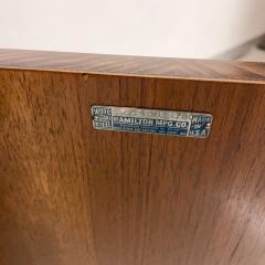 Donald Deskey New Yorker Donald Deskey Industrial Art Deco Satinwood Gloss Cabinets 1930s USA - 1985273