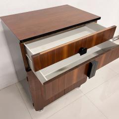 Donald Deskey New Yorker Donald Deskey Industrial Art Deco Satinwood Gloss Cabinets 1930s USA - 1985275