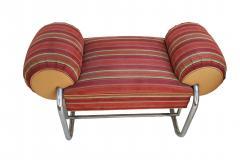 Donald Deskey Pair of Art Deco Machine Age Tubular Chrome Bench Benches by Donald Deskey - 1956537