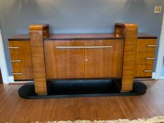 Donald Deskey RARE EXCEPTIONAL MODERNIST ART DECO SIDEBOARD IN THE MANNER OF DONALD DESKEY - 1909904