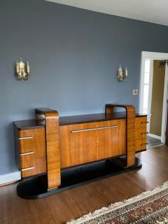 Donald Deskey RARE EXCEPTIONAL MODERNIST ART DECO SIDEBOARD IN THE MANNER OF DONALD DESKEY - 1909905
