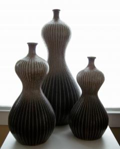 Donna Craven A Trio of Double Gourd Vases - 355642