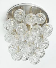 Doria Leuchten Doria Cascading Glass Sphere Flush Mount - 912914
