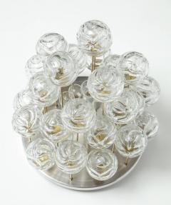Doria Leuchten Doria Cascading Glass Sphere Flush Mount - 912915