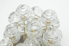 Doria Leuchten Doria Cascading Glass Sphere Flush Mount - 912916