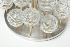 Doria Leuchten Doria Cascading Glass Sphere Flush Mount - 912917