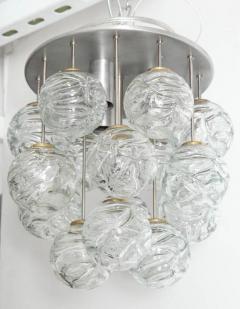 Doria Leuchten Glass Lollipop Flush Mount by Doria - 1093113