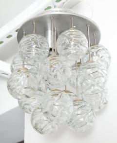 Doria Leuchten Glass Lollipop Flush Mount by Doria - 1093114