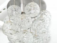Doria Leuchten Glass Lollipop Flush Mount by Doria - 1093115