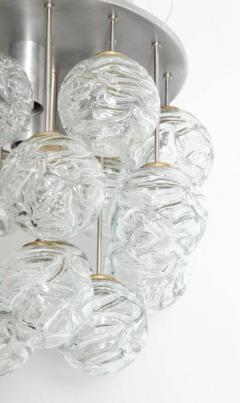 Doria Leuchten Glass Lollipop Flush Mount by Doria - 1093116