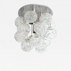 Doria Leuchten Glass Lollipop Flush Mount by Doria - 1093599