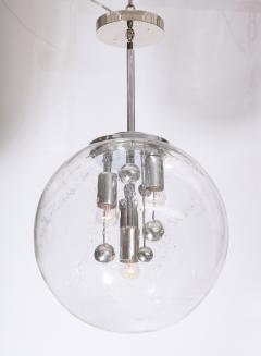 Doria Leuchten Large Murano Glass Globe Sputnik Pendant  - 1039052