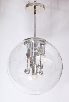 Doria Leuchten Large Murano Glass Globe Sputnik Pendant  - 1039053