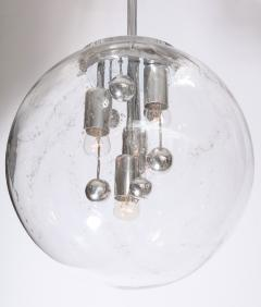 Doria Leuchten Large Murano Glass Globe Sputnik Pendant  - 1039054