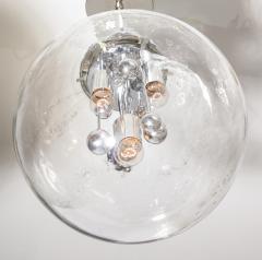 Doria Leuchten Large Murano Glass Globe Sputnik Pendant  - 1039055