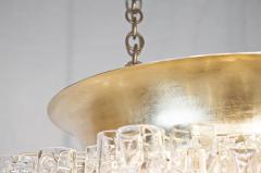 Doria Leuchten Massive Doria Organic Tube Gilt Flushmount Chandelier - 1826789