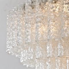 Doria Leuchten Pair of Doria Giant Ballroom Chandeliers with 130 4 Reserve Blown Glass tubes - 1027665