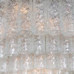 Doria Leuchten Pair of Doria Giant Ballroom Chandeliers with 130 4 Reserve Blown Glass tubes - 1027670
