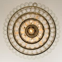 Doria Leuchten Pair of Large Murano Glass Chandeliers by Doria 1960s - 1061419