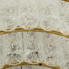 Doria Leuchten Pair of Large Murano Glass Chandeliers by Doria 1960s - 1061428